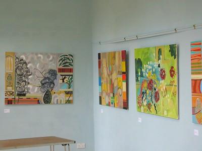 Acrylic 91 x 122 cm and 91 x 91 cm