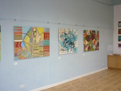 Acrylic 91 x 121 cm and 91 x 91 cm