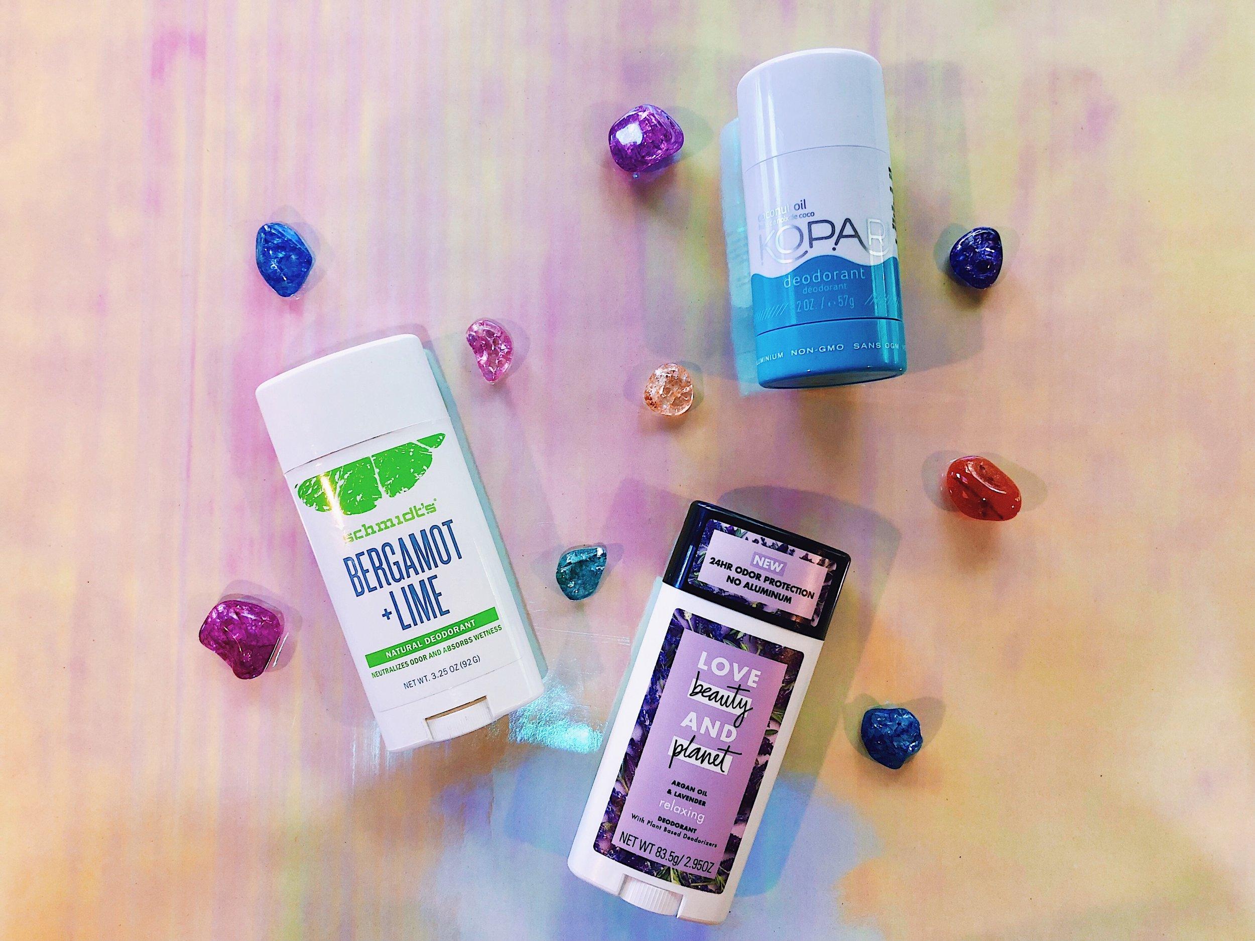 Natural Deodorant Brands