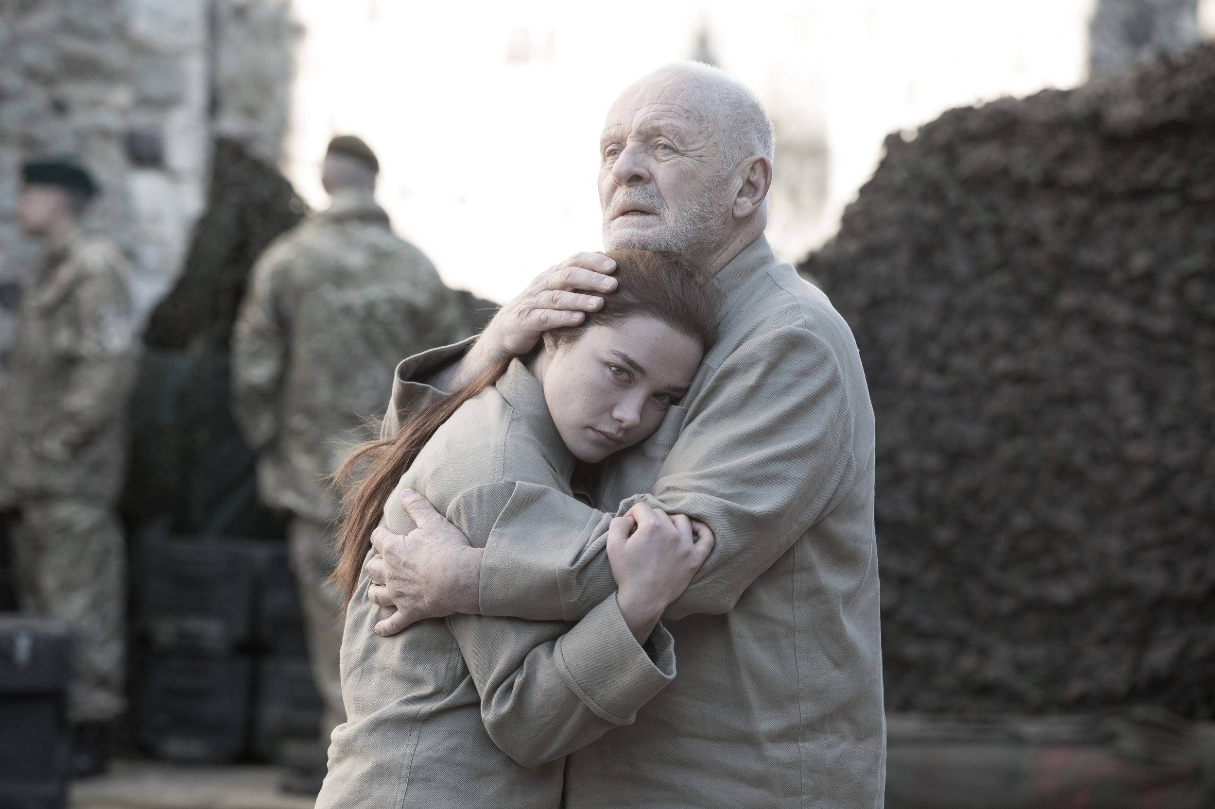 "KING LEAR  ""A marvel… Anthony Hopkins is devastating""  New York Magazine"