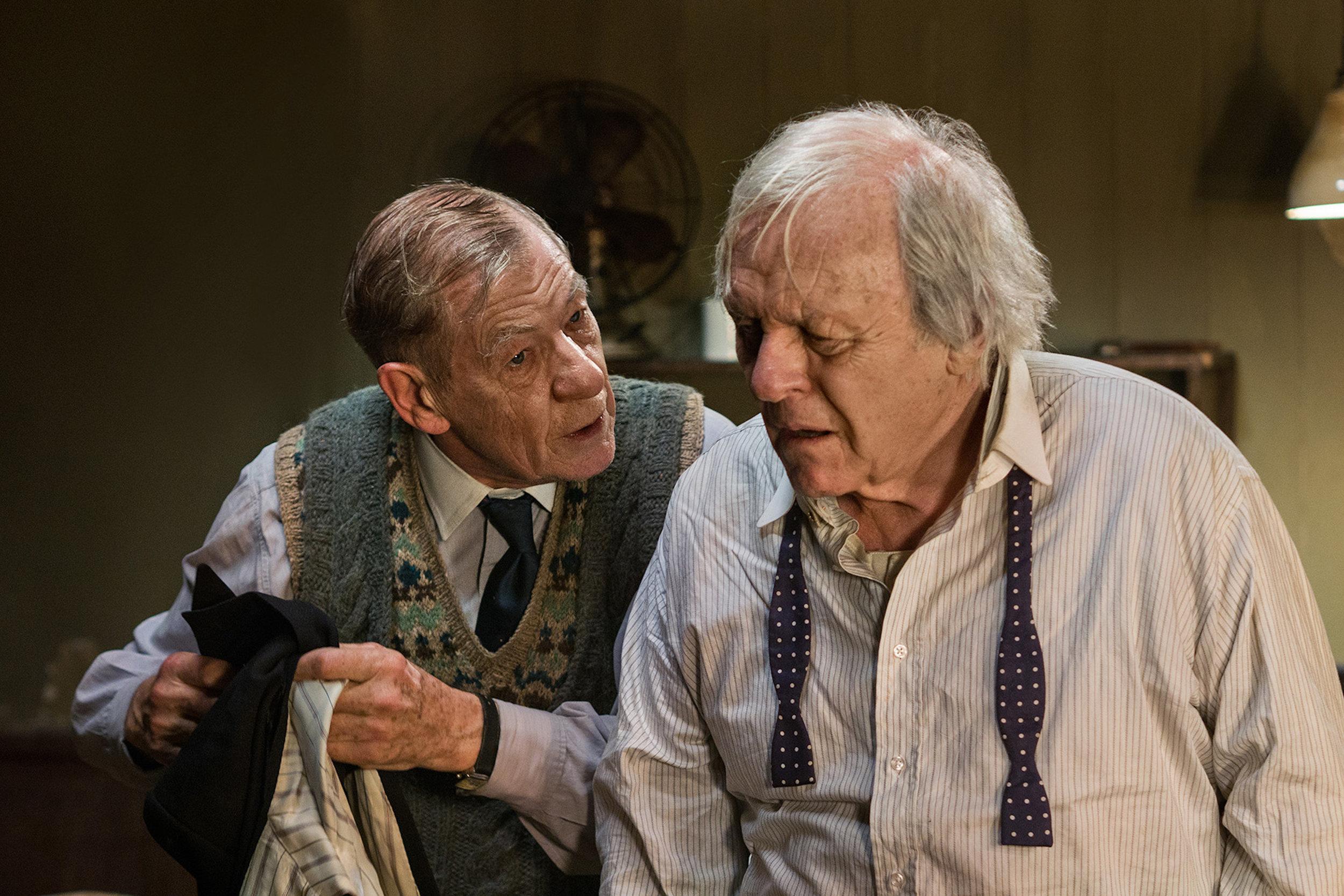 Norman (Ian McKellen); Sir (Anthony Hopkins).jpg