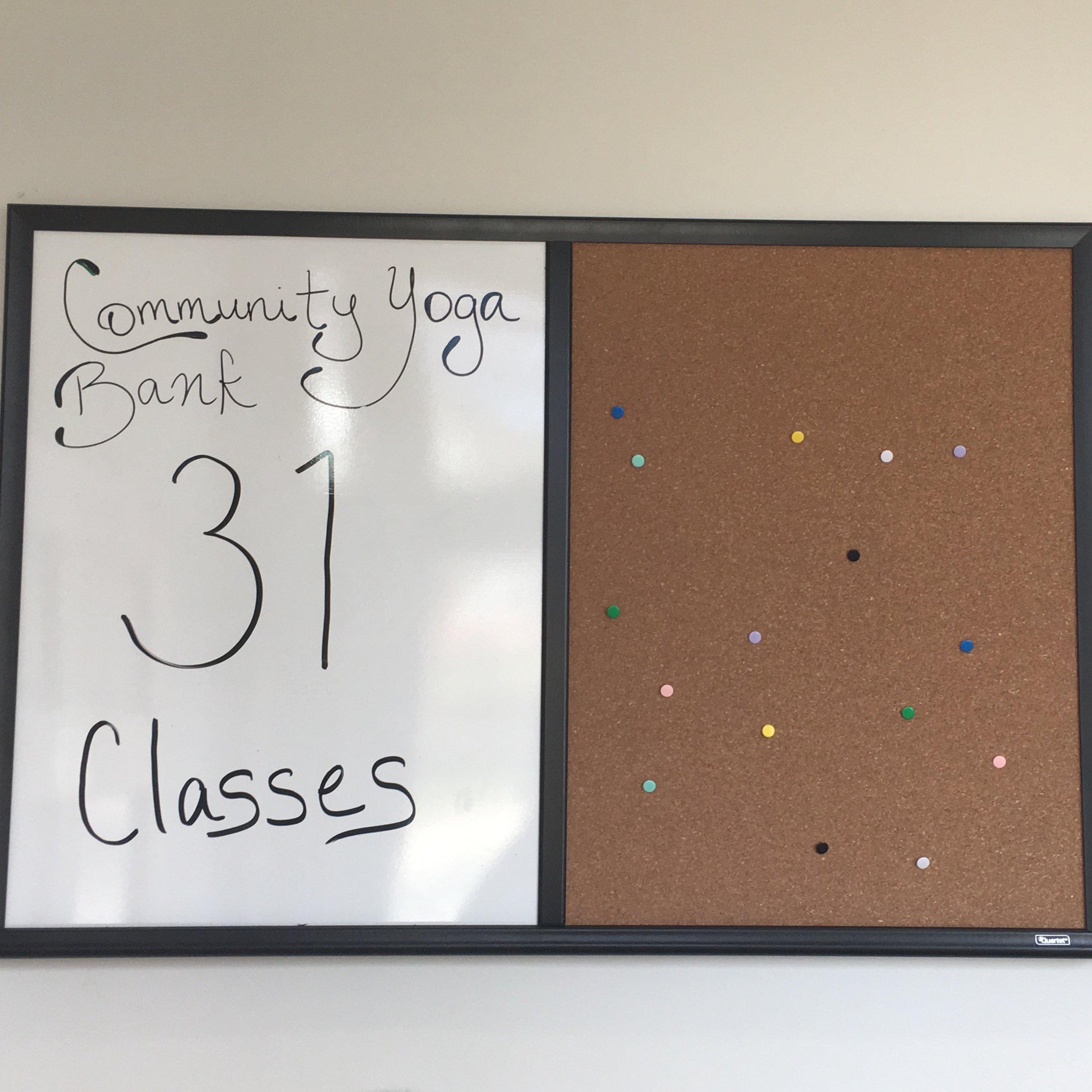 Yoga Bank Classes