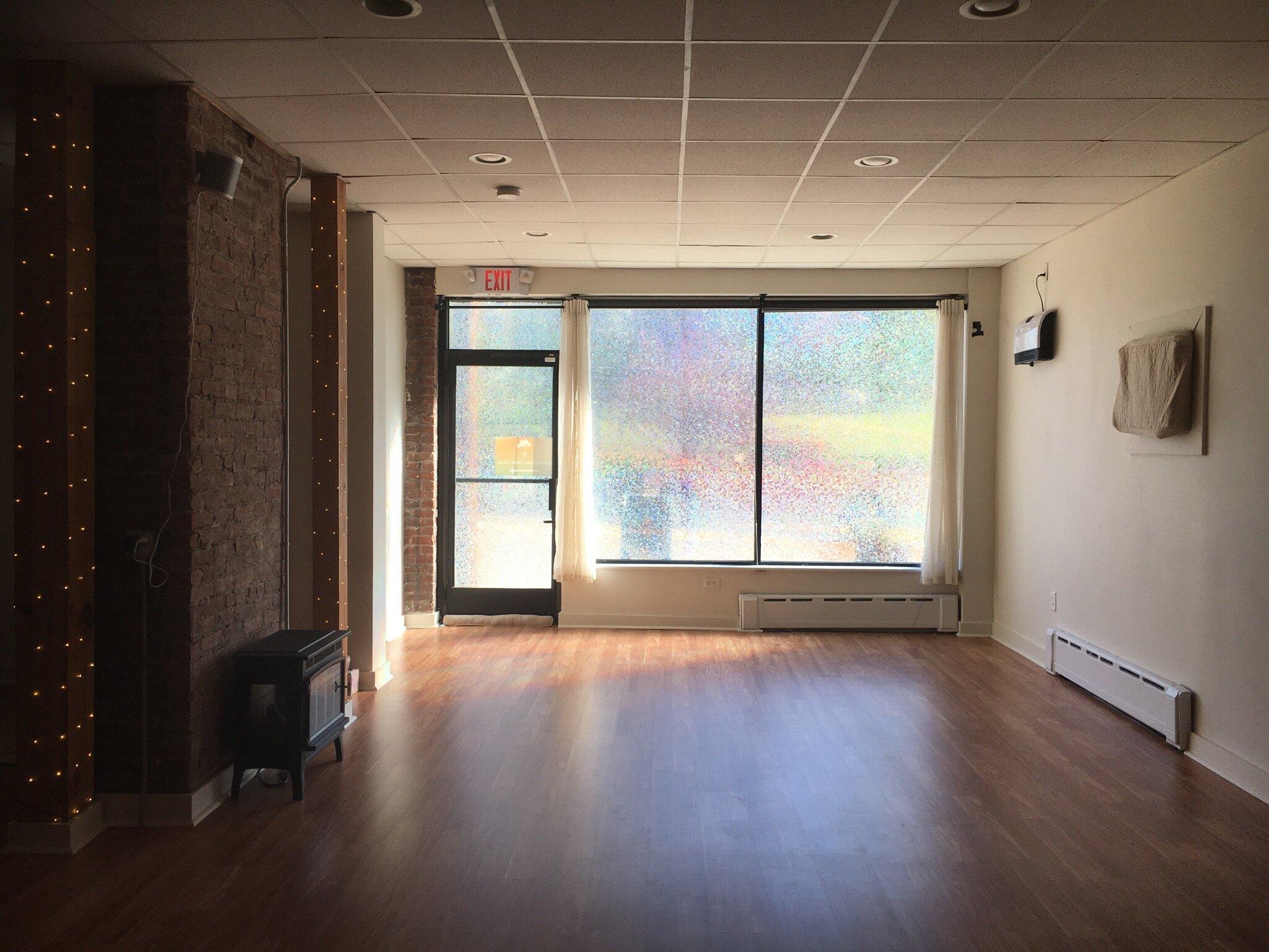 Studio windows