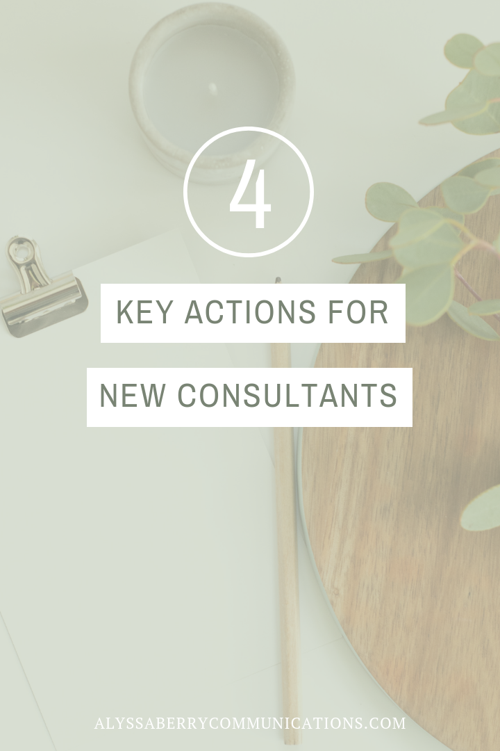 4 Key Actions for Consultants