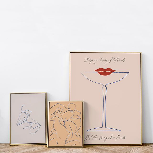 """""""I'll drink your champagne. I'll drink every drop of it, I don't care if it kills me."""" - F. Scott Fitzgerald 🥂 - Prints (L-R)  1. Le Kiss 2. Pyjama Party  3. Champagne . . . . 🦋FLOWER LOVE CHILD 🦋Art Boutique   Aesthetic Adventure - #flowerlovechild #prints #posters #art #interiors #interiorstyling  #wallart #gallerywall #interiordesign #artprints #interiordesigninspo #quotes  #graphicdesign #typography #posters #printshop #abstractart #giclée #modernart #homedecor #interiordesign #artprints #interiorinspo #gallery #homewares  #artsale #statementart #bohemian"""