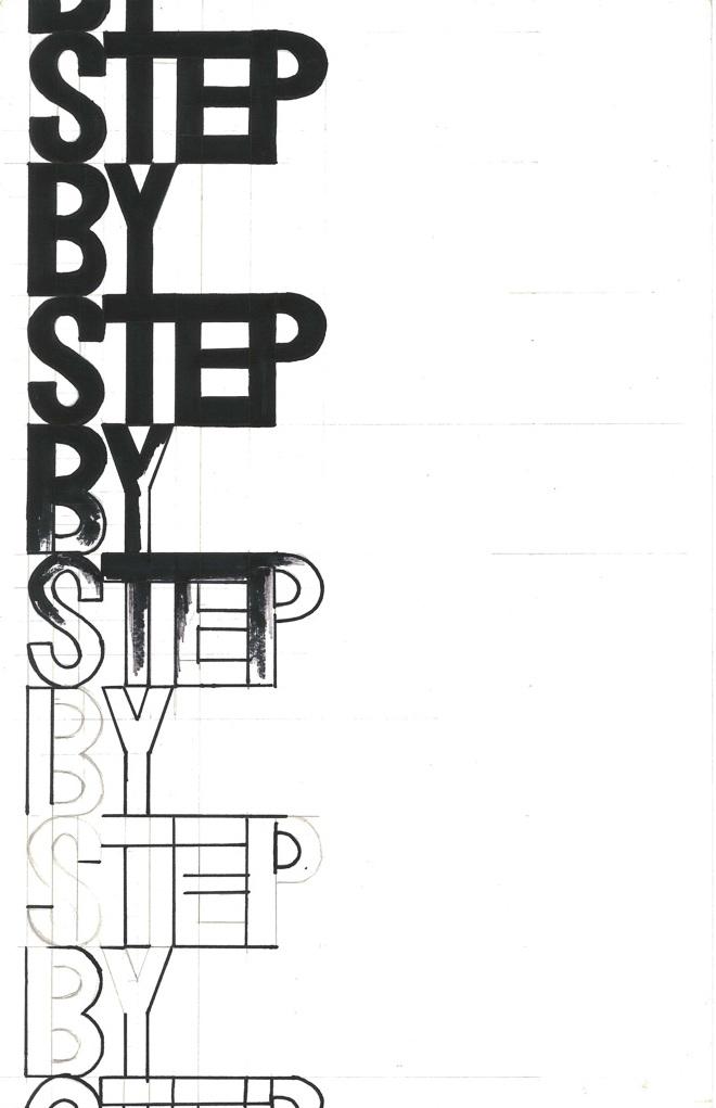 Amira Hegazy,  Step By Step By Step , 2017.