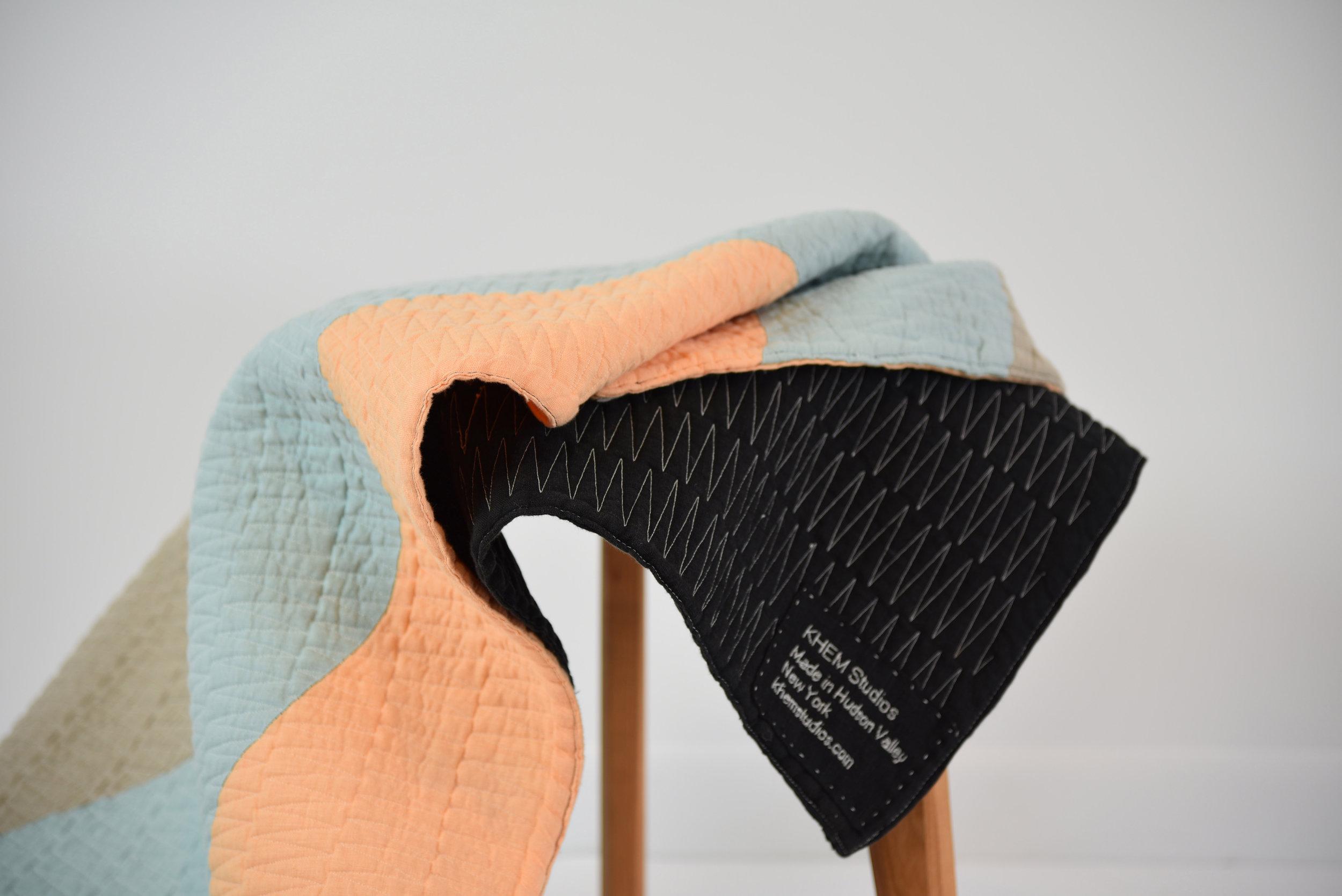 Drip Quilt by KHEM Studios