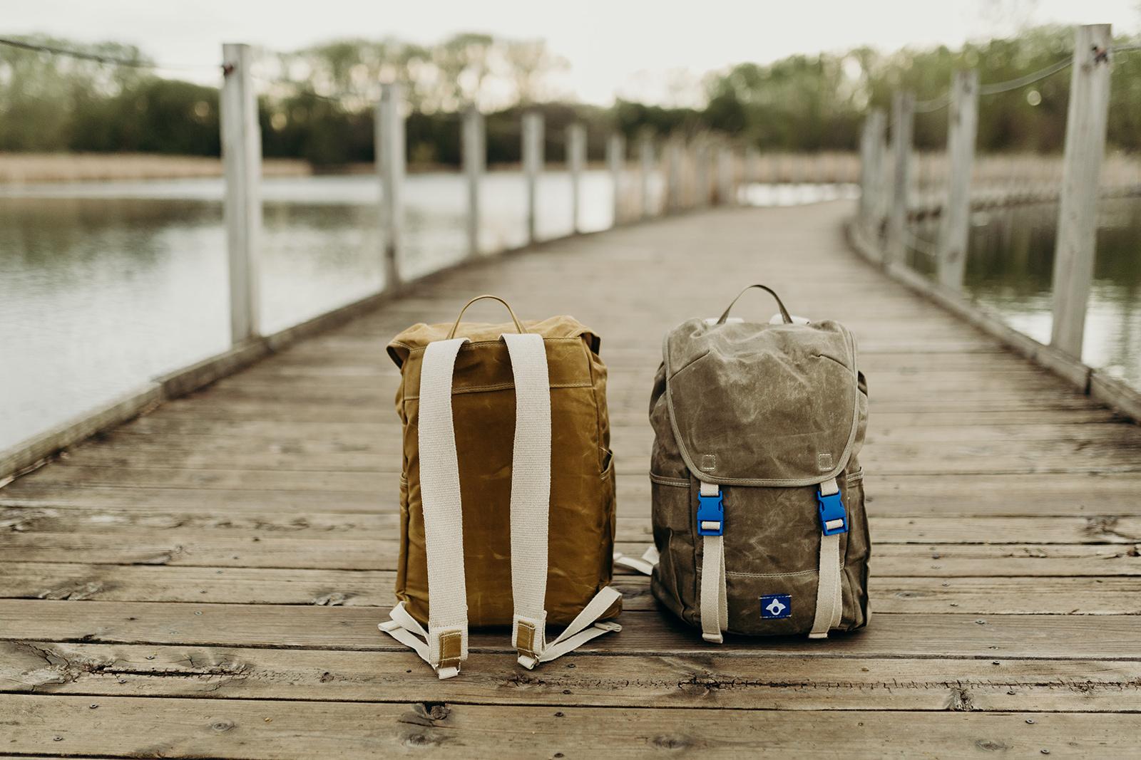 Ashley Duke,  Milo Backpack .