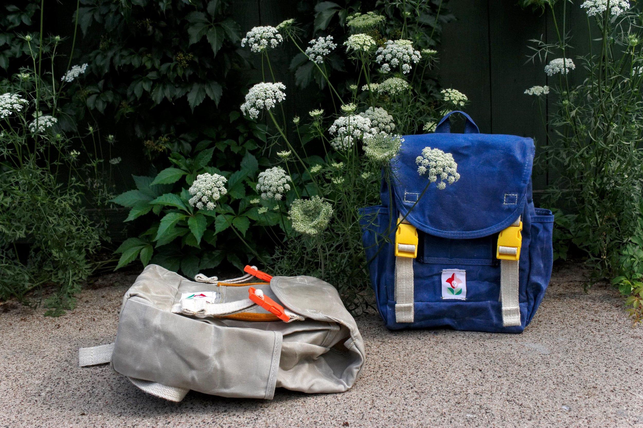 Ashley Duke,  Little Forager Backpack.
