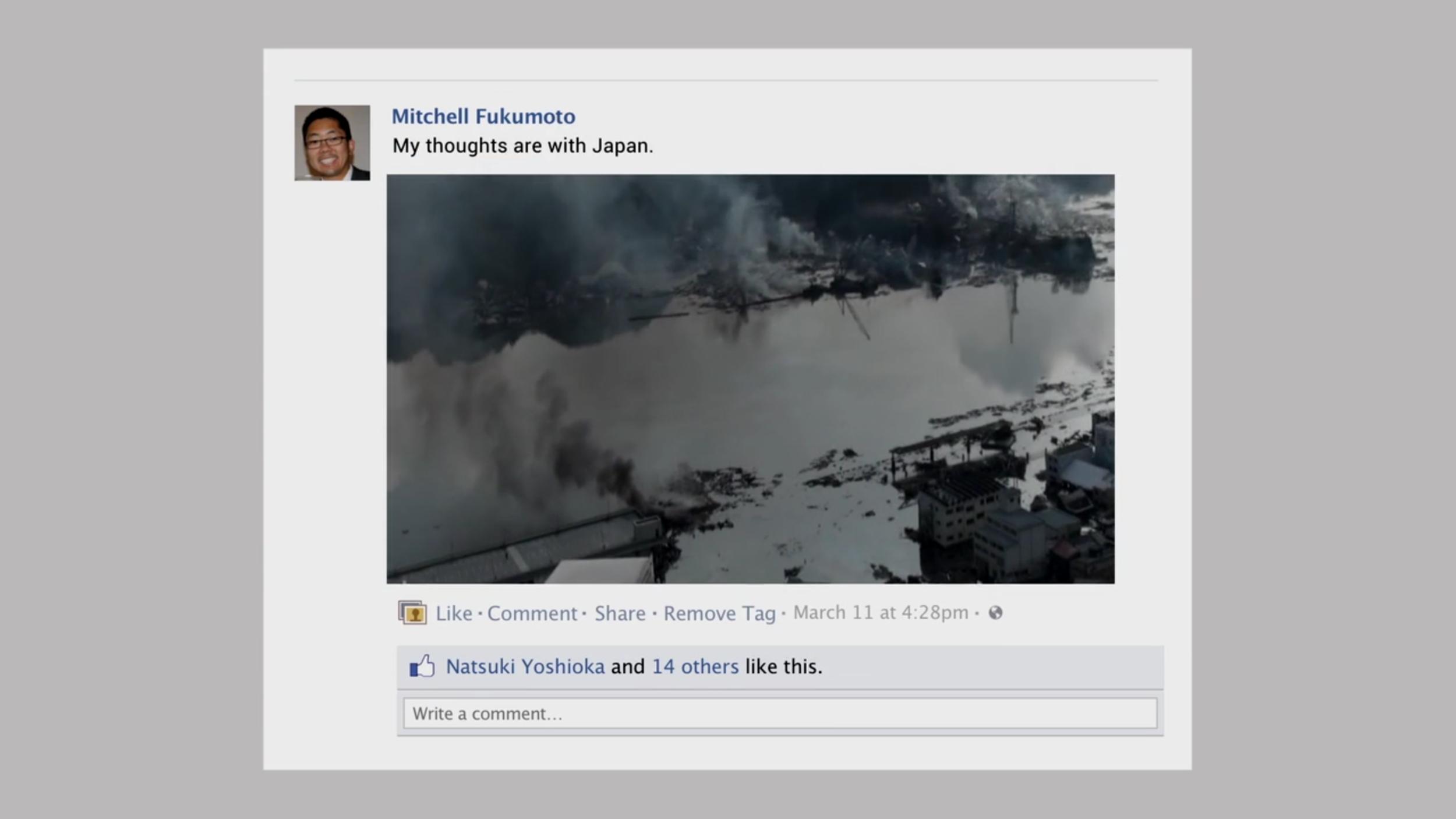 """Facebook """"Crisis Response"""""""