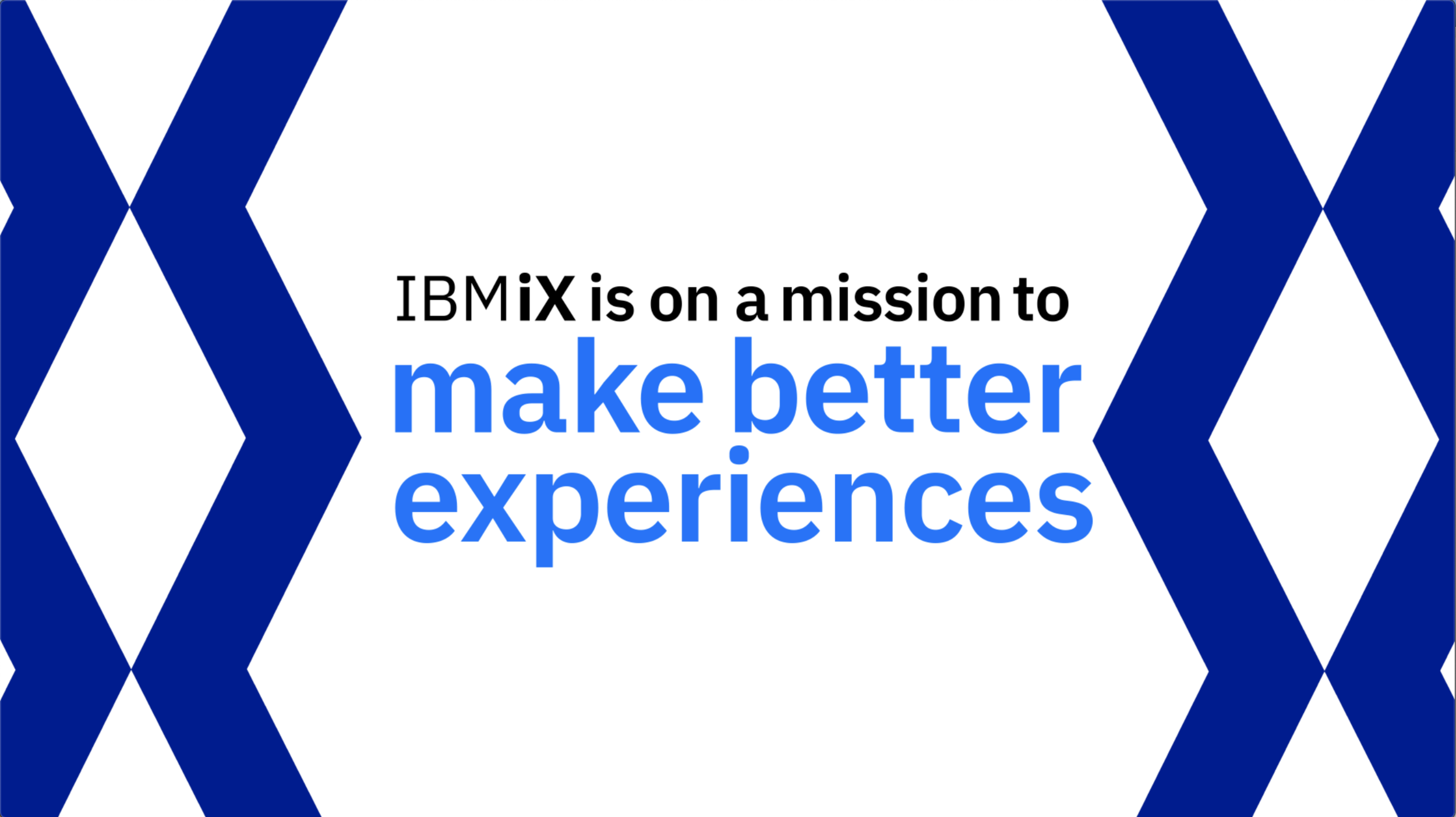 IBM iX Animated Video