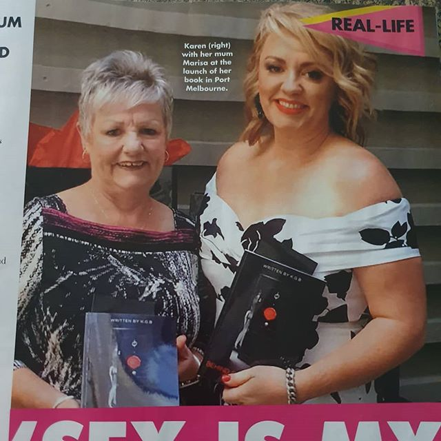 Grab your copy of this week's  New Idea magazine - Australia's most loved Lifestyle Magazine! KGB is featured, showcasing Behind Closed Doors - The Society.  Erotic Fiction endorsed by Aussie celebrities! 🤩 Now in the hands of a U.S Movie Producer!!😲 Get your copy on Amazon or here:- www.thebcdsociety.com.au