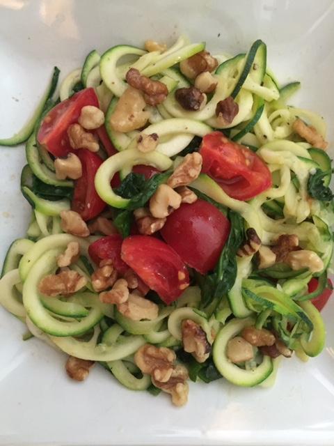 Garden Zucchini Noodles Recipe