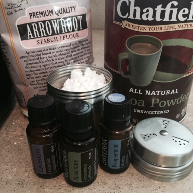 DIY Dry Shampoo Ingredients