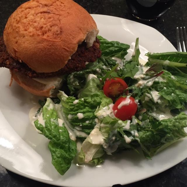 Southwest Veggie Burger Recipe