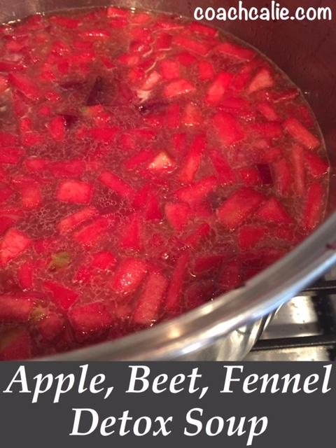 Apple, Beet, Fennel Detox Soup Recipes