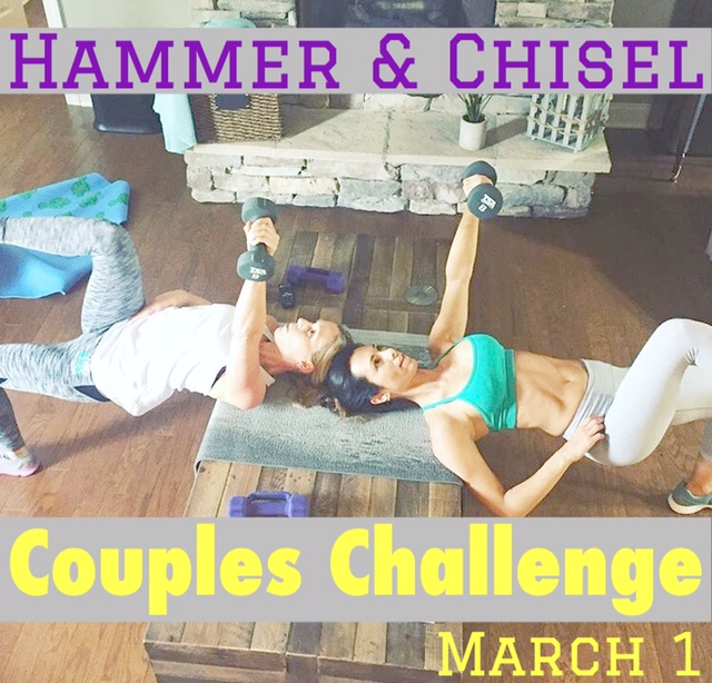 Hammer and Chisel Couples Challenge March 1