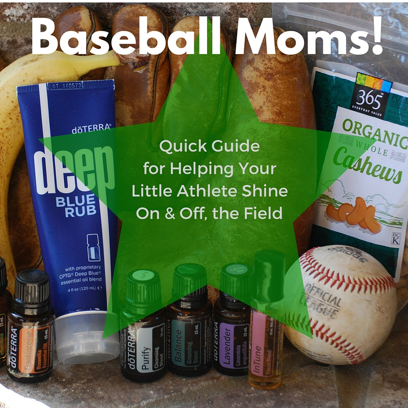 Baseball Moms! Quick Guide for Helping Your Little Athlete Shine On and Off, the Field.