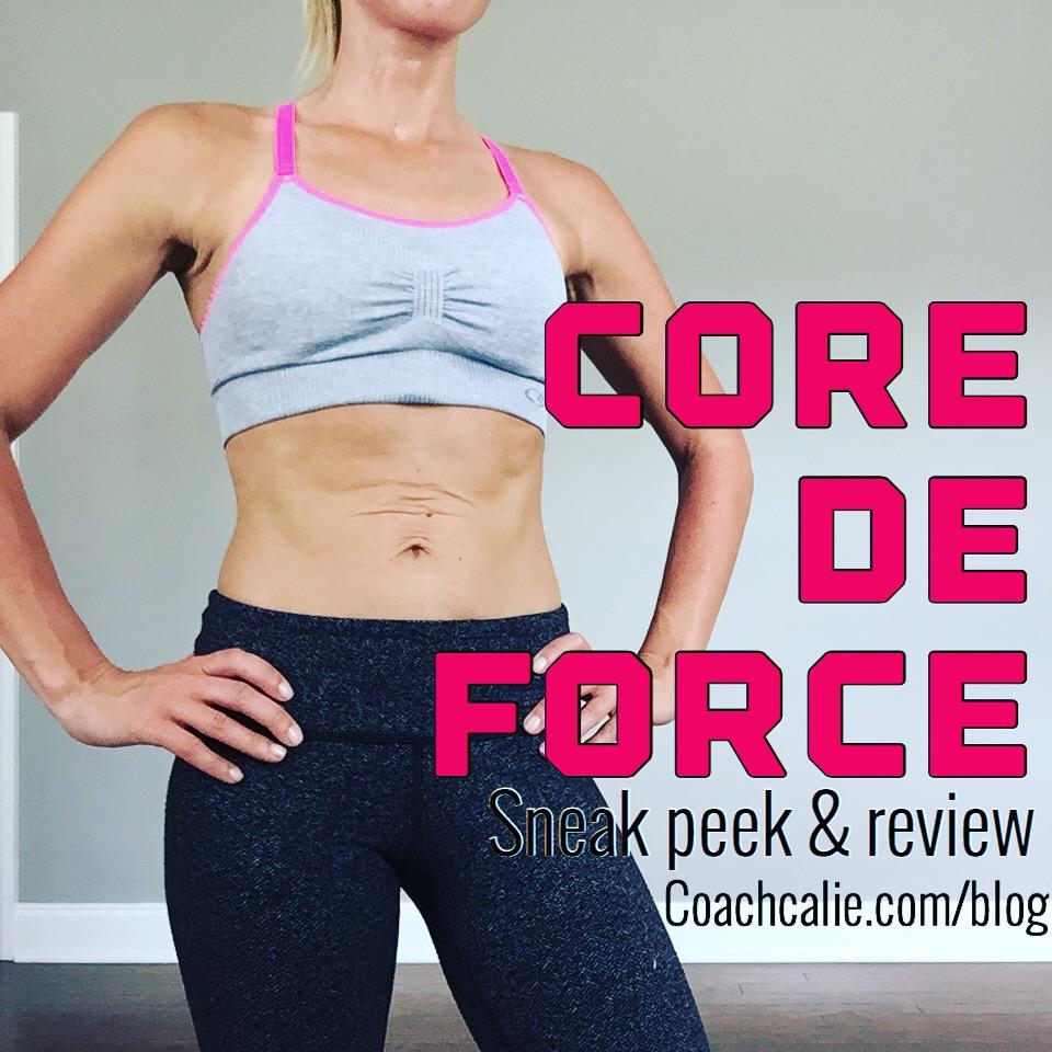 Core de Force: MMA Style Workout Sneak Peek & Review