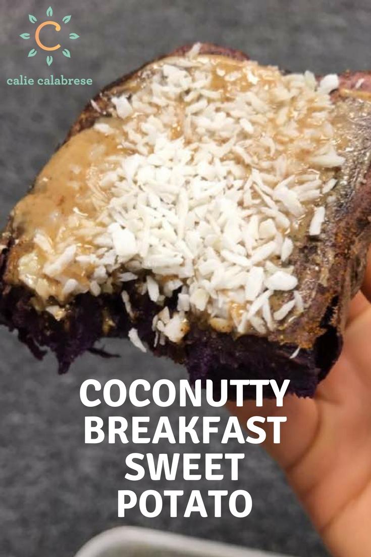 Coconutty Breakfast Sweet Potato Recipe