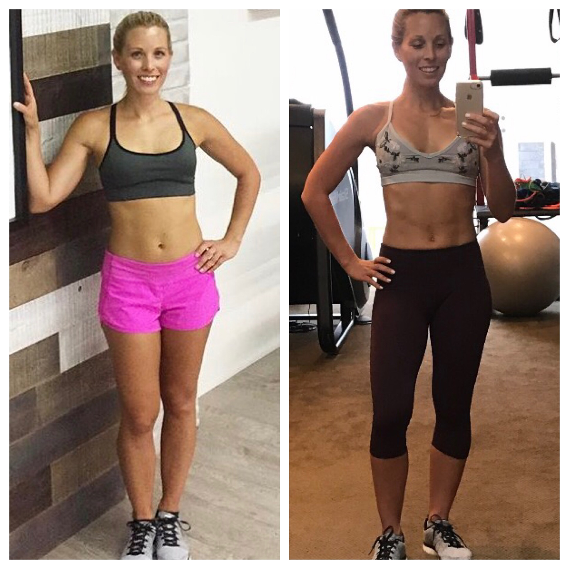 Coach Calie's 80 Day Obsession Results Before and After