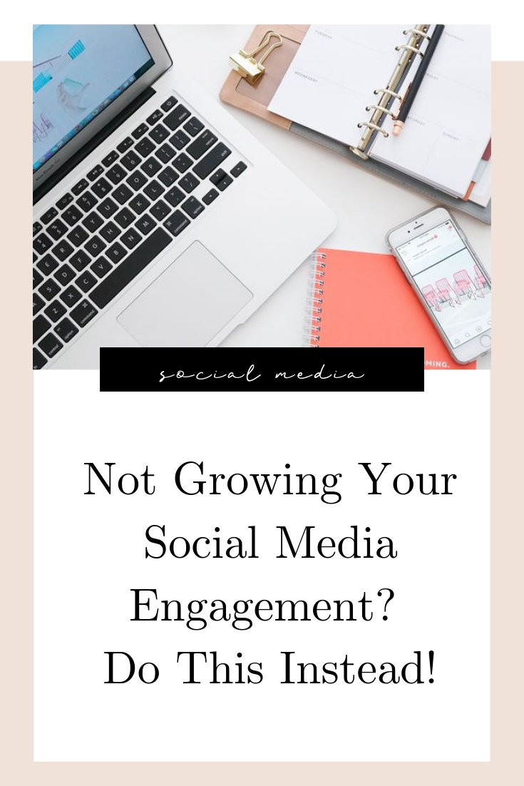 Not Growing Your Social Media Engagement? Do This Instead!