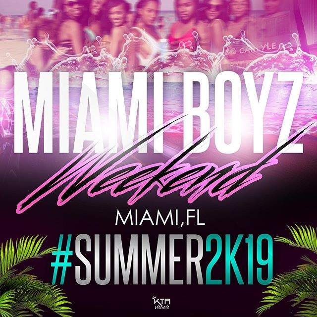 - The wait is finally over!  We are officially coming home....@miaboypoolparty : Miami Edition 🏊🏾♂️🏊🏾♂️July 13th 1-9pm  Tickets 🎟 : Miamiboyzweekend.info #MiamiBoyzWeekend #MiamiBoyzPoolParty #TheBiggest.  @nocrowdcontrol