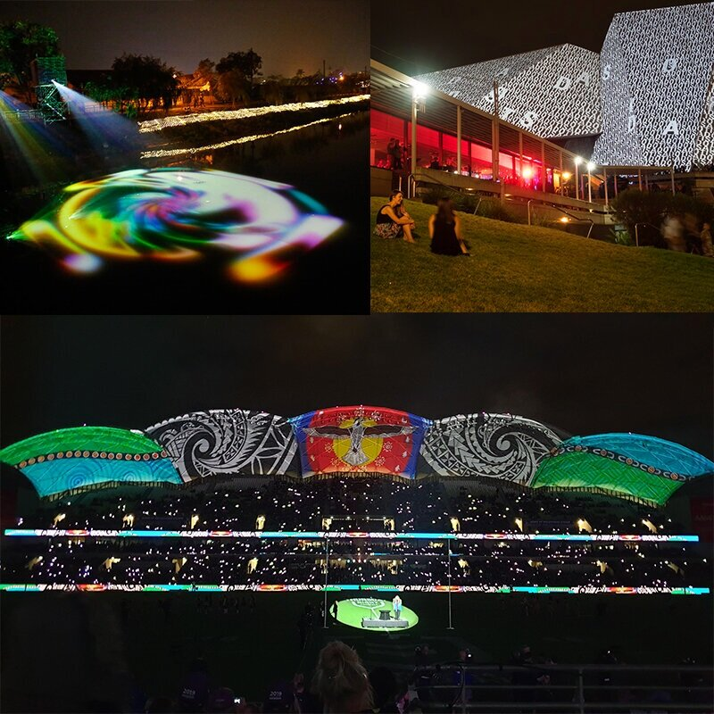 Installations and live events - If you have an idea for digital creativity then get in touch.