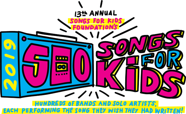 500 Songs for Kids!! - My acoustic group will be performing at 500 Songs For Kids on Saturday, April 27, 2019 at Vinyl at Center Stage at 10:15PM! Please consider donating to this amazing organization. Your generous donation creates another free musical journey for a kid with an illness, injury, genetic disorder or special need with a mentor at the brand new Songs For Kids Center. Click HERE to make a donation. Thank you!