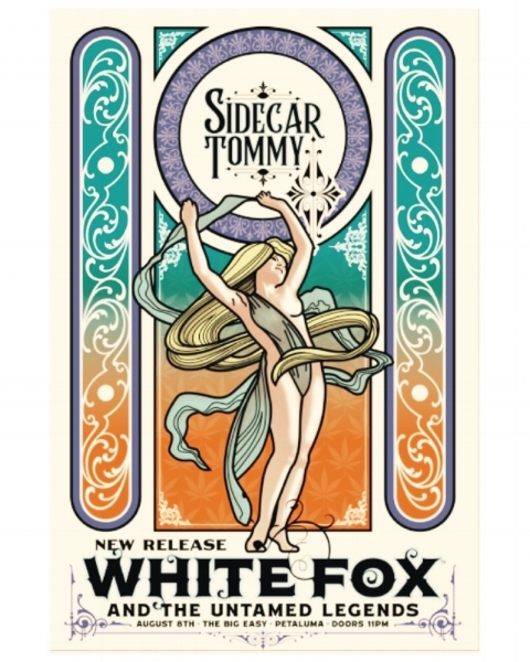 An event that drew in the foxes… - Sidecar Tommy and White Fox present…