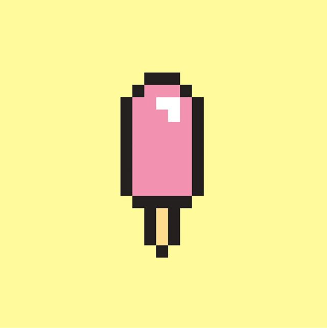 Pop #8bitart #illustrator #icecream