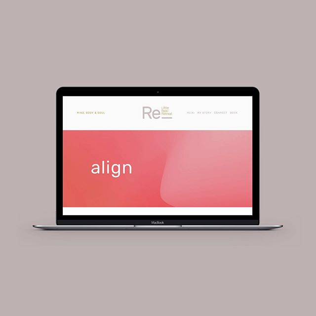 Launched this little beauty last month for the wonderful Dionne of @littlereikiretreat. We've been working on this project for a wee while behind the scenes so it was reeeeally exciting to see it go live! 〰️⠀⠀ ⠀⠀ Clean, modern and beautifully vibrant, Dee's site is a perfect reflection of her warm, bubbly, and nurturing spirit. The Little Reiki Retreat will be opening its doors in the coming months so if you're in the Tauranga region be sure to book a visit with Dee! 🖤 ... It's her birthday today too BTW, so happy birthday gorgeous lady xox
