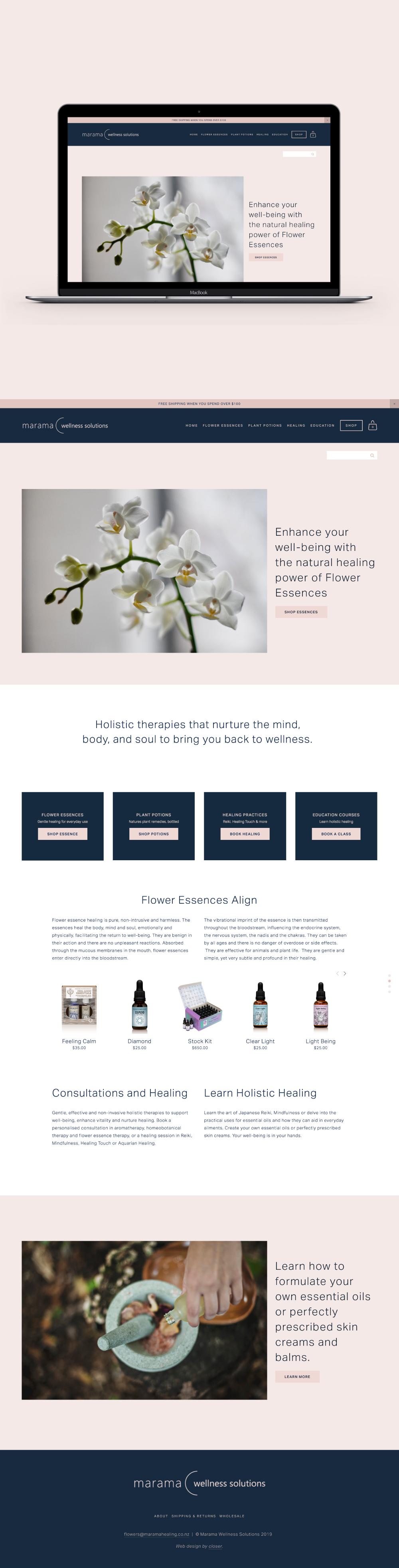 marama-wellness-solutions-custom-ecommerce-website