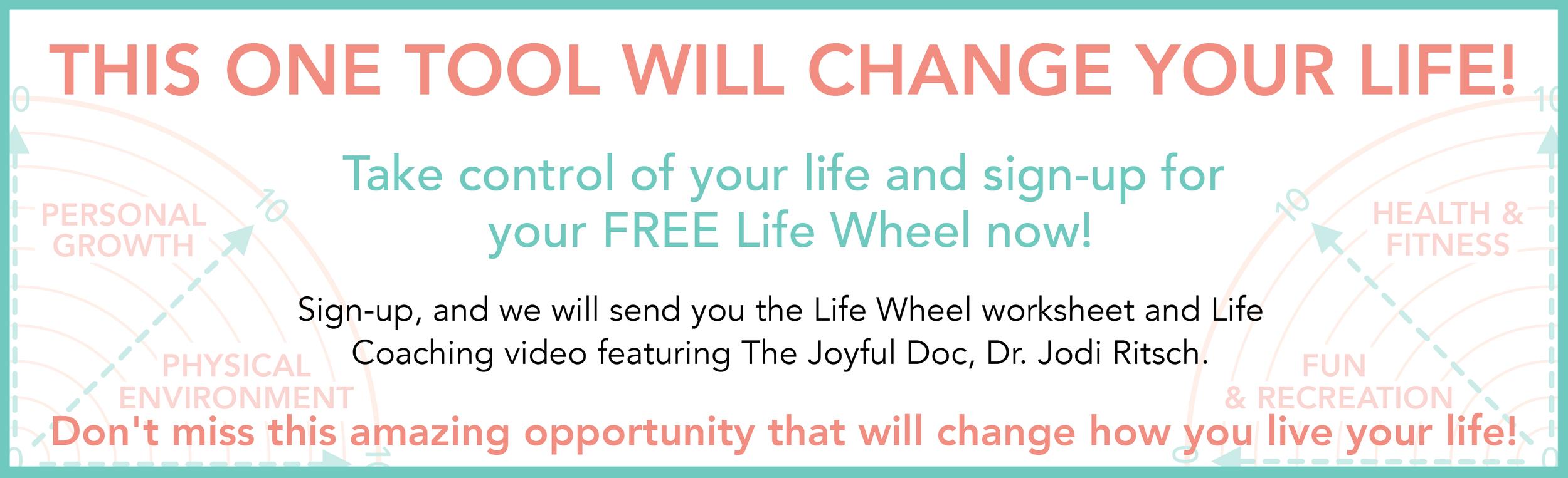 Your Life Wheel Journey Begins Now! -