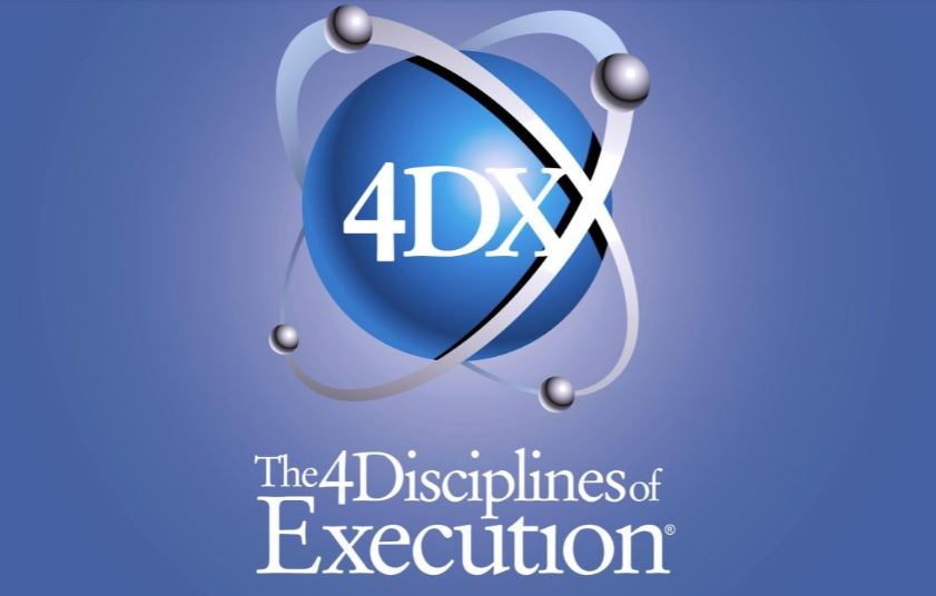 Four Disciplines of Execution - by Franklin CoveyFOCUS — LEVERAGE — ENGAGEMENT — ACCOUNTABILITYWhat we focus on expands … this will expand productivity and profitability.1. Identifying Wildly Important Goals2. Identifying The Action Steps To Achieve Them3. Tracking With A Compelling Scoreboard4. Committing To A Regular Schedule Of Accountability