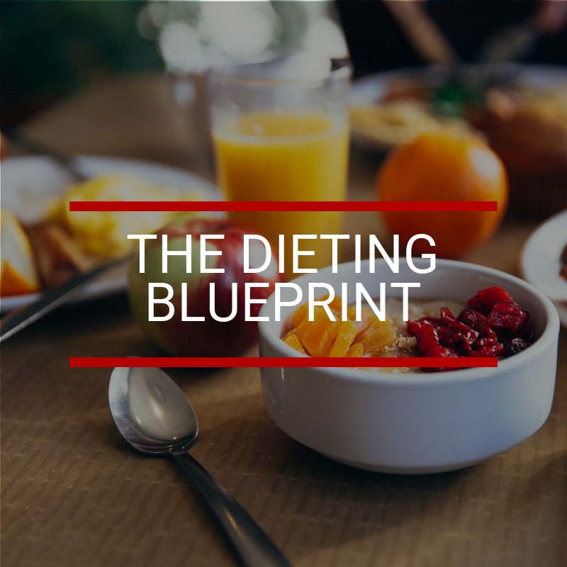 Learn how to eat the food you love and still get the results you want. The Dieting Blueprint helps you understand nutrition so that you can create permanent, positive and sustainable change.  Offered in written, audio and video format. Click image for more info.