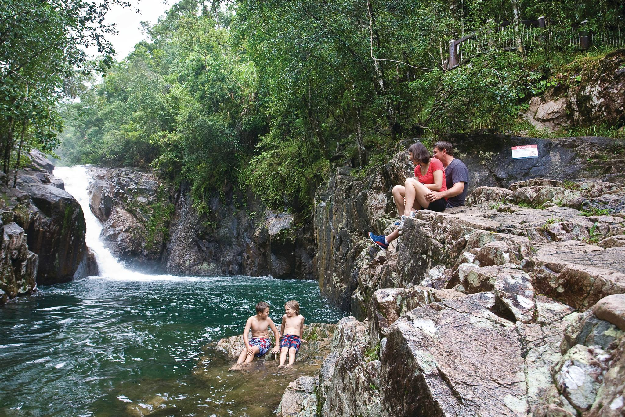 swimming hole at Finch Hatton