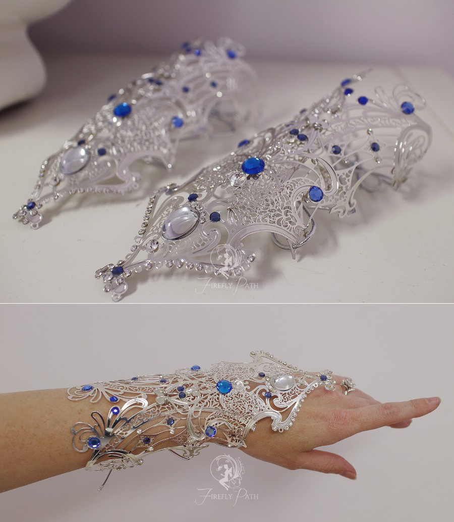 Princess Alyndra Elora Moonflower Gauntlets