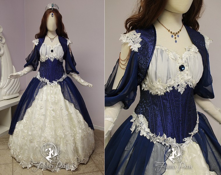 Ravenclaw Bridal Gown