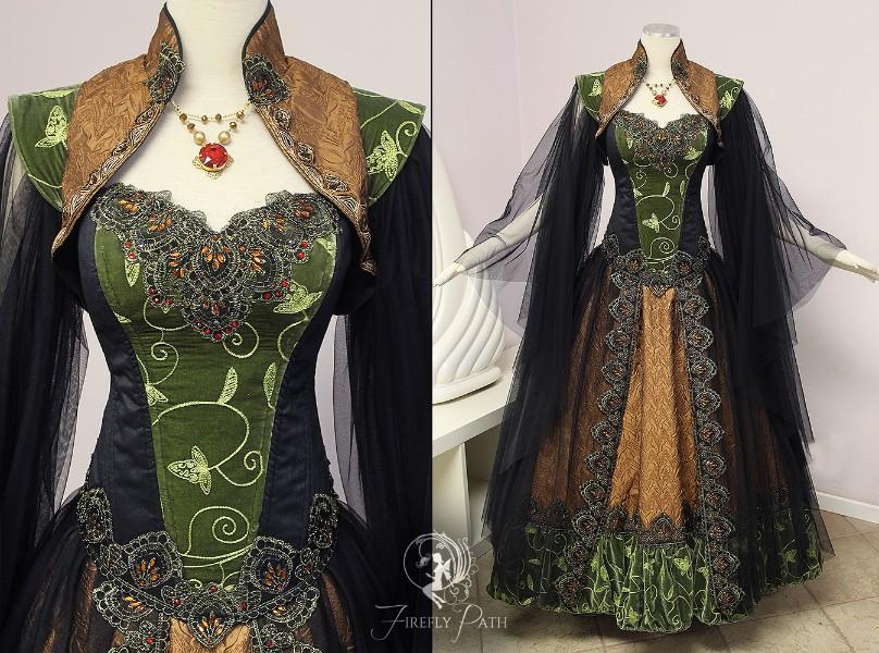 Dalish Elf Gown