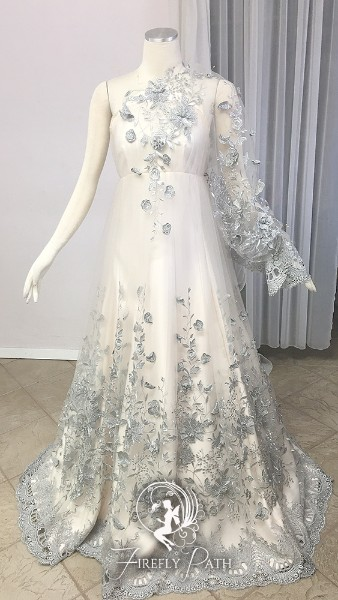 Silver Vine Gown