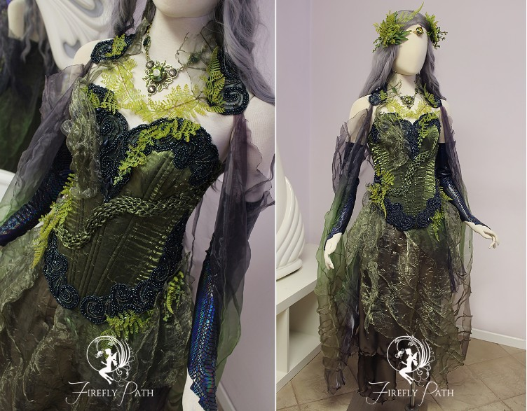 Forest Serpent Gown