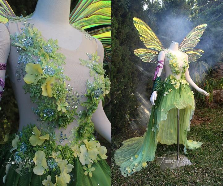 Hannah Alexander Art Nouveau Tinkerbell
