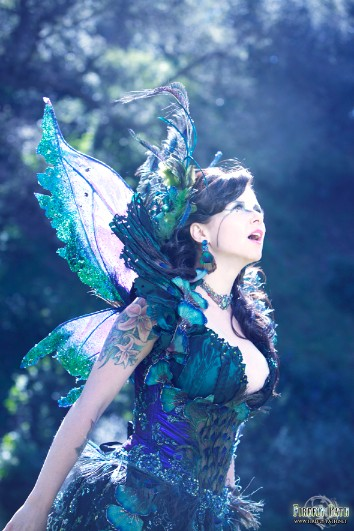 Peacock Fairy Gown
