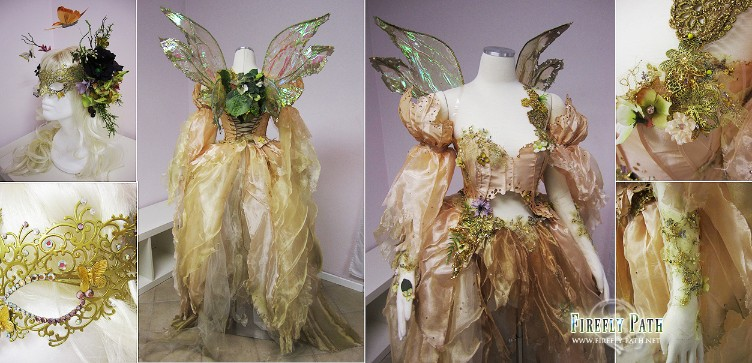 Moth Fairy Gown