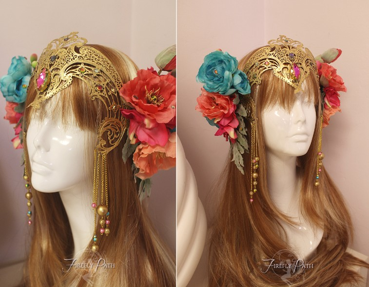Faerie Queen Headdress