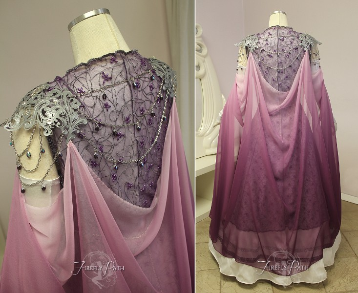 Plum Princess Zelda Gown