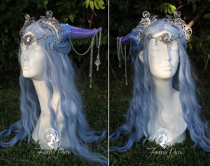 Amethyst Draconia Headdress