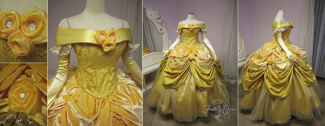 Disney Park Belle Gown