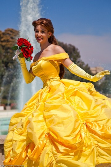 Animated Belle Gown